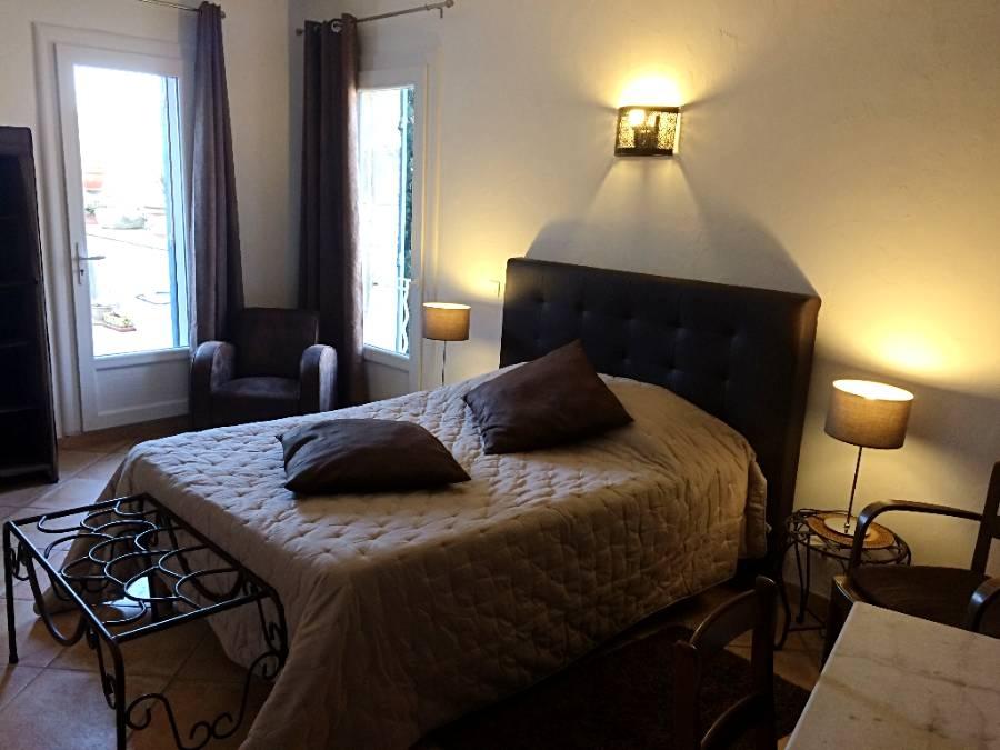 Les chambres d'hôtes - Le Bel Oustau - Restaurant Fontvieille